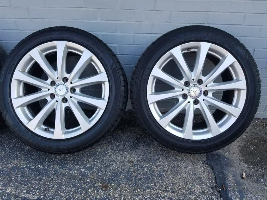 4 tires and rims for 2013 Mercedes S550