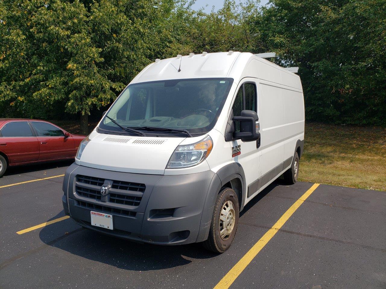 2014 Dodge RAM Promaster 2500 Cargo 159 Wheel Base Diesel