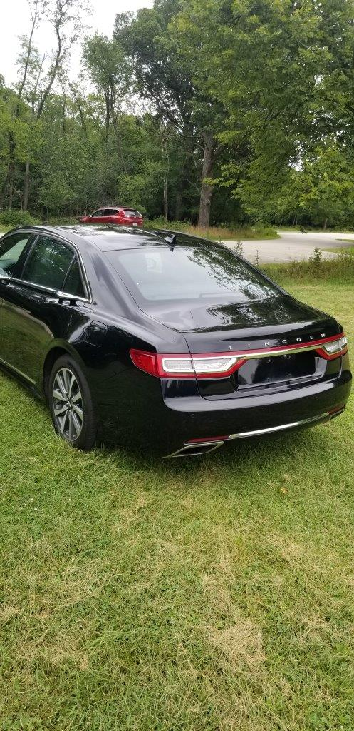 2019 Lincoln Continental Livery Edition